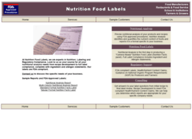 nutritionfoodlabels.com