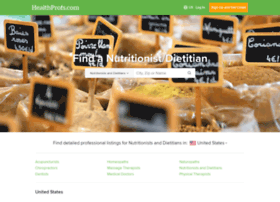 nutritionists.healthprofs.com