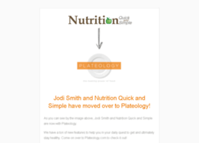 nutritionquickandsimple.com