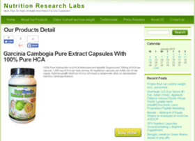 nutritionresearchlabs.com