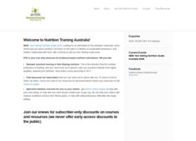 nutritiontrainingaustralia.com.au