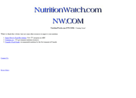 nutritionwatch.com