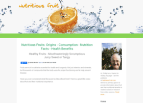 nutritiousfruit.com