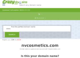 nvcosmetics.com