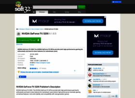 nvidia-geforce-fx-5200.soft32.com