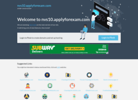 nvs10.applyforexam.com