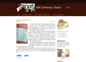 nwseminaryshare.weebly.com