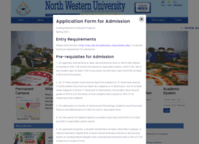 nwu.edu.bd