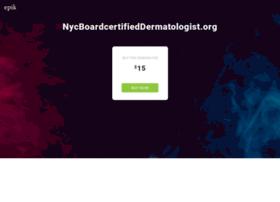 nycboardcertifieddermatologist.org