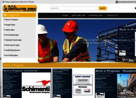 Nycontractorsigns.com