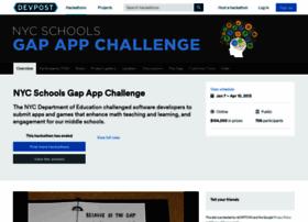 nycschools.challengepost.com