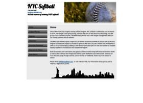 nycsoftball.com