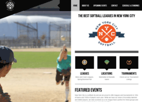 nycsoftballleague.com