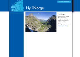 nyinorge.portfolio.no
