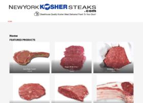 nykoshersteaks.com