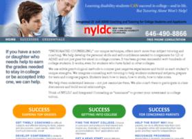 nylearningdisabilitycounseling.com