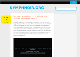 nymphnoir.org