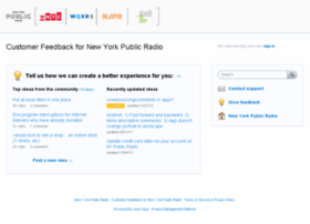nypr.uservoice.com