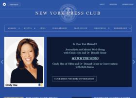 nypressclub.org