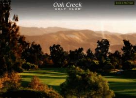oakcreekgolfclub.com