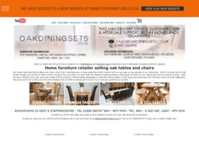oakdiningsets.co.uk