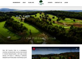 oakhillcc.clubsoftlinks.com