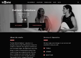 oakland.barmethod.com