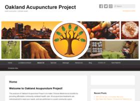 oaklandacupunctureproject.com