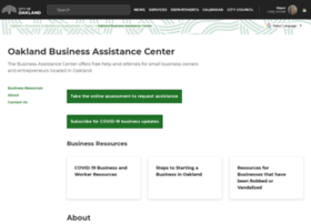 oaklandbusinesscenter.com