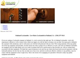 oaklandlocksmiths.biz