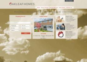 oakleafhomes.co.uk