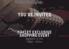 oakleyise.splashthat.com