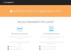 oakleyvault-sunglasses.com
