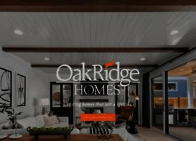 oakridgehomes.com