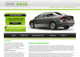 oakridgesuvs.com