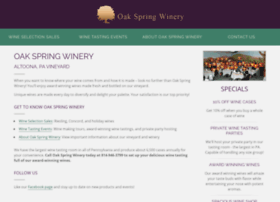 oakspringwinery.com