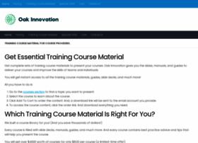 oaktraining.com