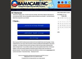 obamacarefornc.com