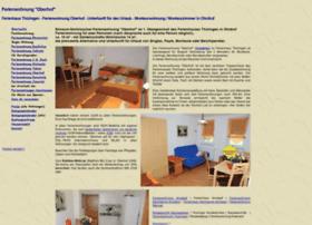 oberhof.ferienhaus-ohrdruf.de