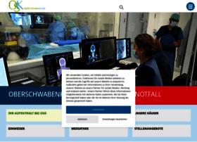 oberschwabenklinik.de