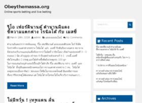 obeythemassa.org