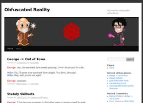 obfuscatedreality.com