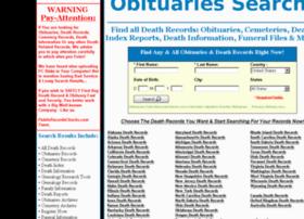 obituaries.publicrecordschecks.com