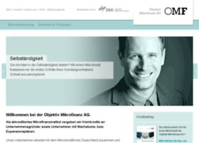 objektiv-mikrofinanz.de