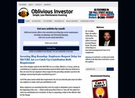 obliviousinvestor.com