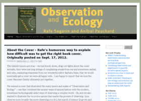 observationandecology.com