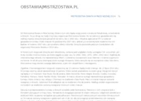 obstawiajmistrzostwa.pl