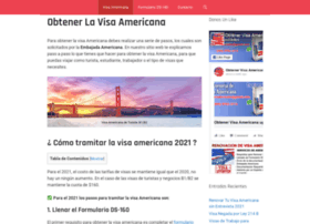 obtenervisaamericana.com