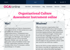 Organizational culture index test websites and posts on organizational