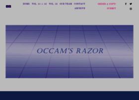 occamsrazorwwu.org
